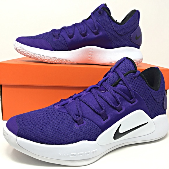 timeless design d161e 664cd Nike Hyperdunk X Low TB Purple Mens Basketball NWT